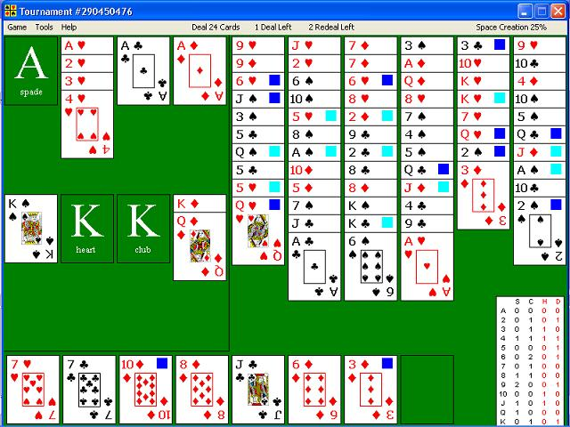 Tournament, solitaire, free, card, game